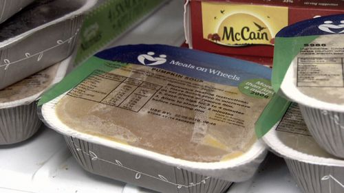 He claims one of his Meals On Wheels deliveries was tampered with, making him ill.