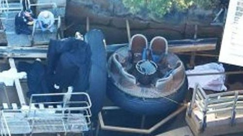 The fatal incident on the Thunder River Rapids ride unfolded nearly two years ago. Picture: 9NEWS