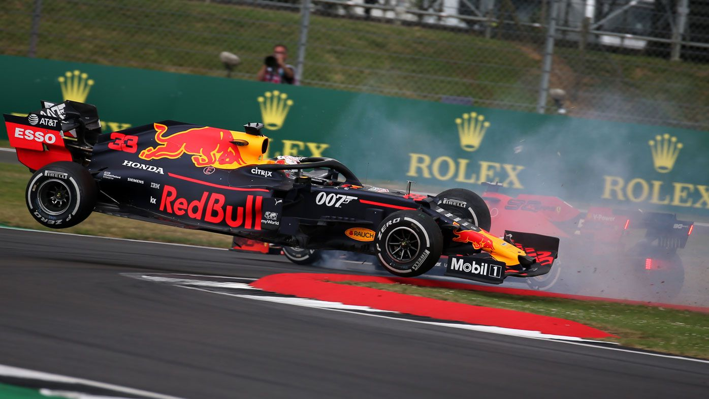 Hamilton extends F1 lead with British GP win as Vettel and Verstappen caught in wild crash