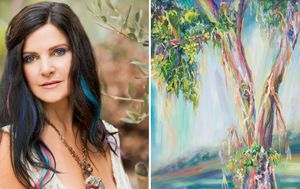 The ultra rare condition that allows a Byron Bay artist to see 100 million colours