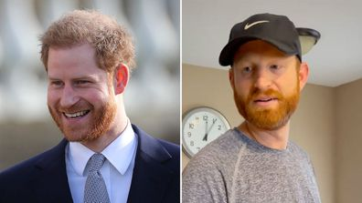 Prince Harry's doppelgänger discovered on TikTok by confused toddler