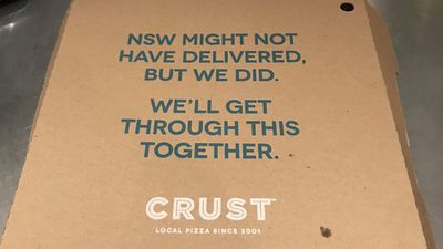 Crust Pizza calls State of Origin for Queensland... too early