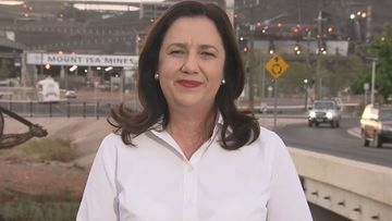 Queensland leaders' first election pitch on jobs and boosting economy