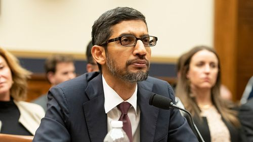 Google CEO Sundar Pichai was grilled by lawmakers at a congressional hearing in December.