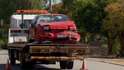 Western Australia car crash Kalamunda home