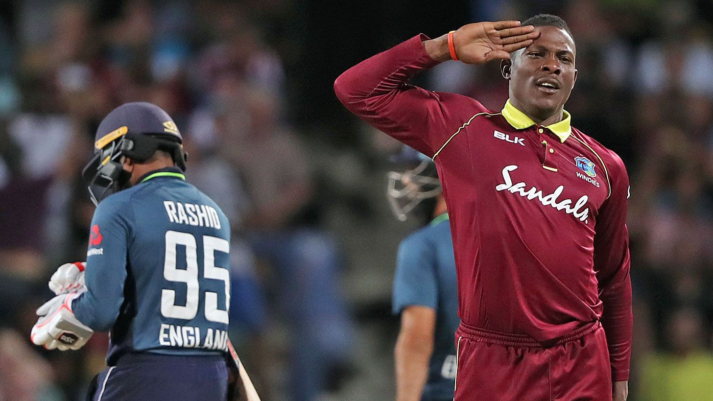West Indies beat England for first time in five years to level ODI series