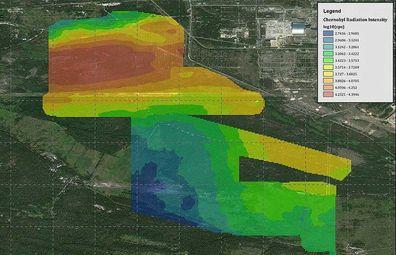 Chernobyl radiation hotspots mapped using drones