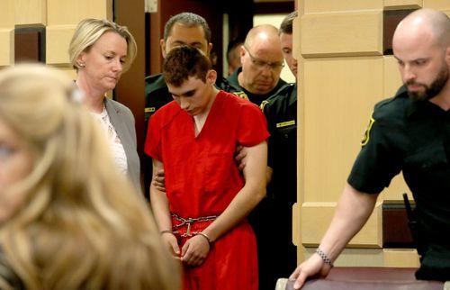 Nikolas Cruz, the teenager accused of the mass shooting which killed 17 people in Florida last week, is behind bars. (AAP)