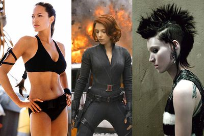 From crime-fighting superheroines to undercover spies to everyday battlers, there are thousands of legendary female characters we could choose from, but we've narrowed it down to a bunch who we think really stand out.