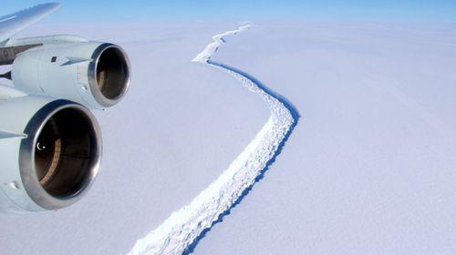 Iceberg the size of Kangaroo Island set to break away