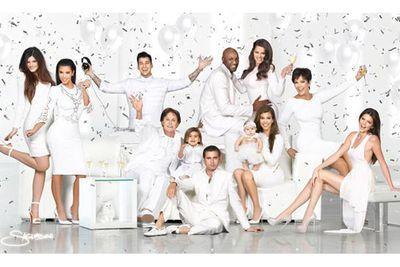 The Kardashians' 2012 card was all celebratory champagne, darlings!