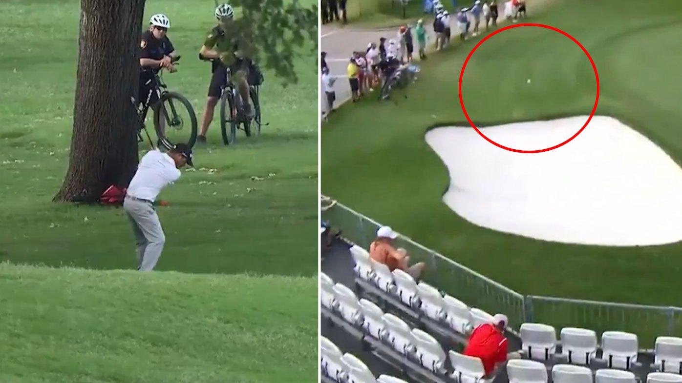 Golf highlights: Kevin Na grabs two-shot lead at Charles Schwab Challenge