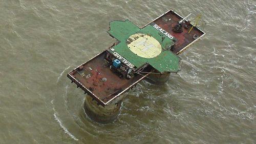 The Sealand fort. (Tankwart)