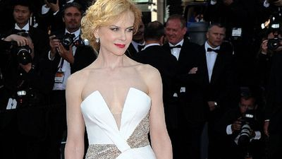 Nicole Kidman in Georgio Armani for the closing ceremony of the Cannes film festival in 2013.