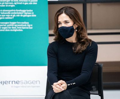 Princess Mary launches stroke hotline, October 2020