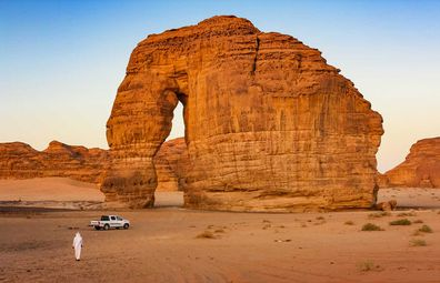 Elephant Rock in Al Ula, Saudi Arabia