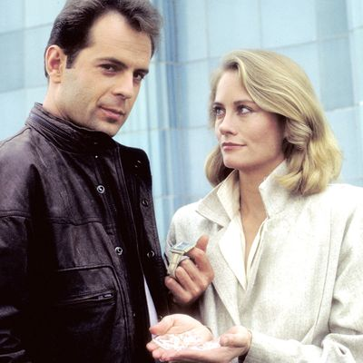 Moonlighting: Bruce Willis and Cybill Shepherd