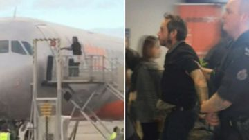 Passenger charged after trying to 'break into plane'