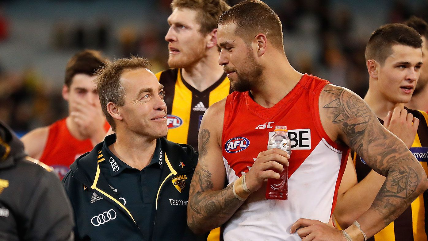 Alastair Clarkson backing Lance Franklin to recover from latest hamstring injury