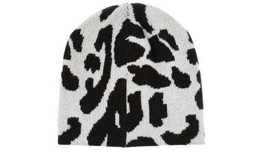 "<a href=""http://www.net-a-porter.com/product/504084/Baja_East/leopard-intarsia-cashmere-beanie"" target=""_blank"">Leopard-intarsia cashmere beanie, $363.07, Baja East</a>"