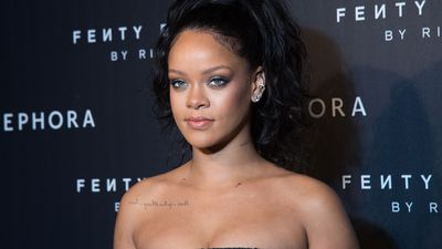 <p>Rihanna is a star. No doubt.</p> <p>She's a singer, a fashion designer and now - a beauty guru with the launch of her label Fenty Beauty sending the cosmetics world into a serious spin. And why not?</p> <p>The quality is top-notch, the variety straight-up genius. There are 40 shades of foundation no less! Given how much fuss the range has caused it seems a reasonable question to ask - where did the name come from?</p> <p>Several unwitting journalists have asked that very question and the face you see here is the face Rihanna has given them. You see, Fenty is her name. Simple as that. Yes. Her name is Rihanna Fenty.</p> <p>So there you have it. The name, however, is not what we ought to be focusing on. What we need to consider is that the range is truly gorgeous. It's vast, so everyone is included. It's made of incredible quality - so your money is well spent. And, most important of all, it makes you look more beautiful than ever.</p> <p>Oh RiRi ... No wonder we love you like we do. Click through and check out some of her latest products that have us swooning.</p>
