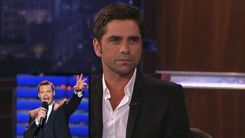 John Stamos calls Ryan Seacrest gay on live TV