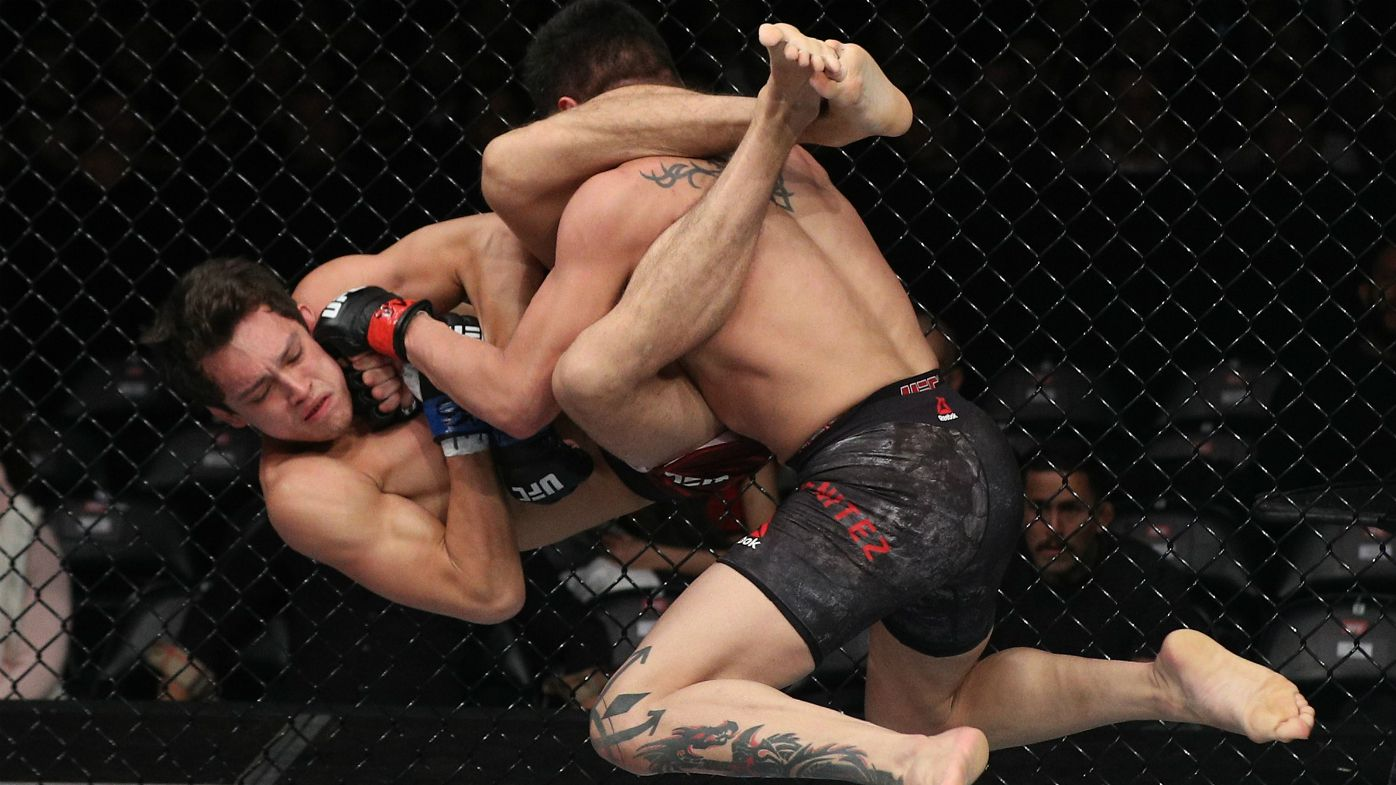Mexican fighter Gabriel Benitez executes stunning counter-attack in UFC Chile