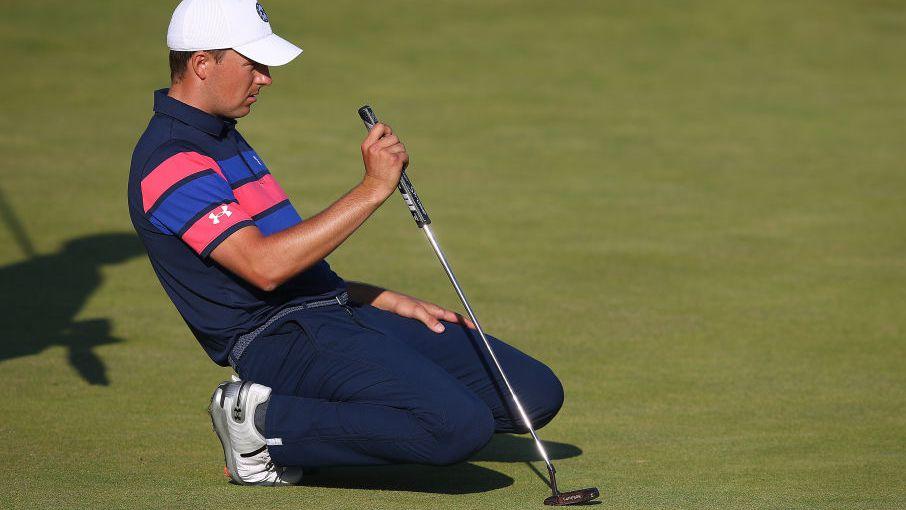 Open Championship: Jordan Spieth's Saturday meltdown proves costly on leaderboard