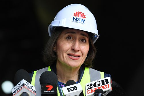 NSW Premier Gladys Berejiklian is not allowing a letter from Michael Daley pressure her to stop demolition to Allianz Stadium. (AAP Image/Joel Carrett) NO ARCHIVING