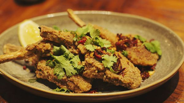 Dan Hong's salt and pepper lamb cutlets