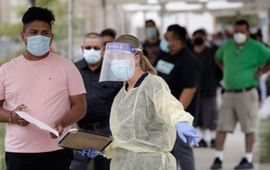 California tops 10,000 virus deaths as Italy COVID-19 cases urge