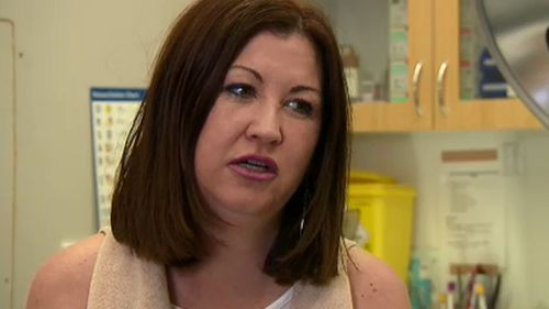 Leanne Tranby saw her skin clear for the first time in a decade after the drug trial.