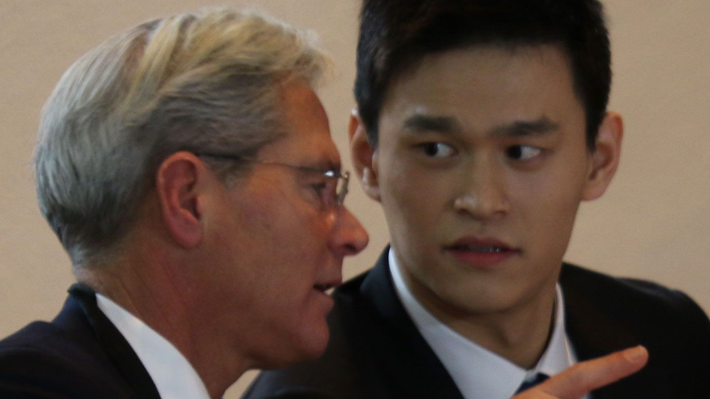 Sun Yang takes crack at Australian media, Mack Horton during CAS hearing