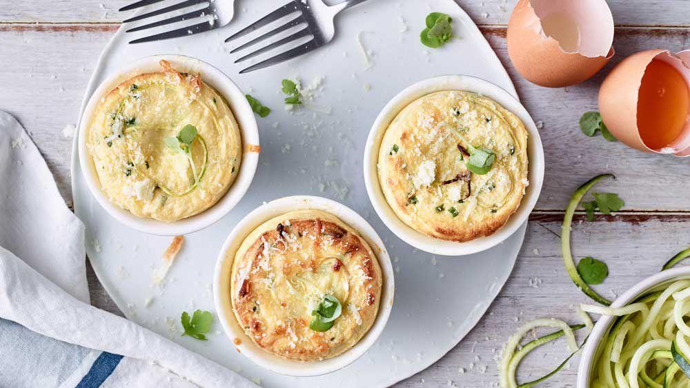 Anna Polyviou's savoury souffle recipe