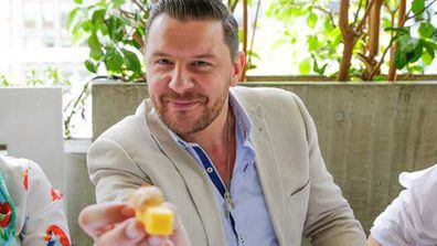 Celebrity and TV chef Manu Feildel's scrambled eggs secret