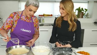 Pumpkin four ways with 9Honey's  Jane de Graaff and Today Extra's Britt Cohen