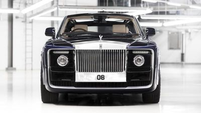$17.2 million Rolls-Royce Sweptail the world's most expensive production car