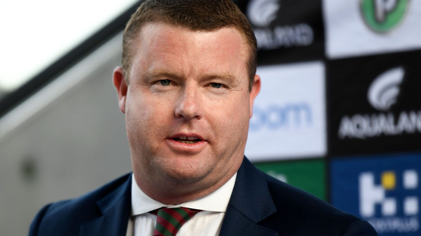 Rabbitohs boss Blake Solly hits out at 'ill-informed' critics of NRL's restart plan