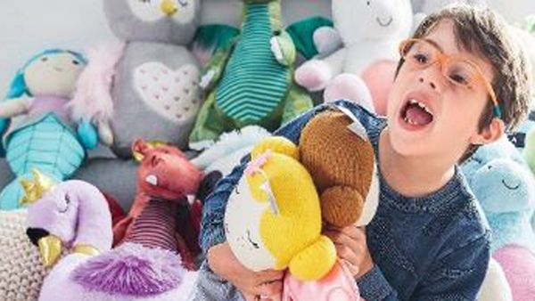 Julius Panetta had a blast starring in the latest catalogue for mid-price department store Target.