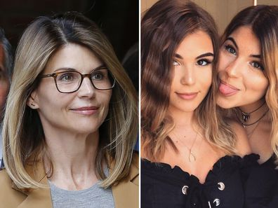 Lori Loughlin,  Olivia Jade Giannulli, Bella Giannulli