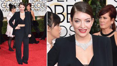 Kiwi singer Lorde. (AAP)