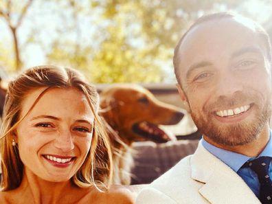 James Middleton wedding pic