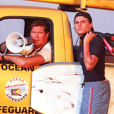 Jeremy Jackson as Hobie Buchannon: Then