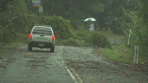 The wild weather is expected to continue throughout Monday before easing on Tuesday.