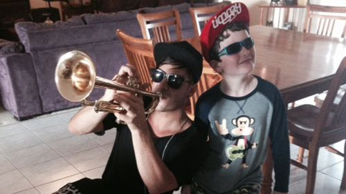 Timmy Trumpet and Toby Bauer. (Lauren Ellis, TODAY Show)