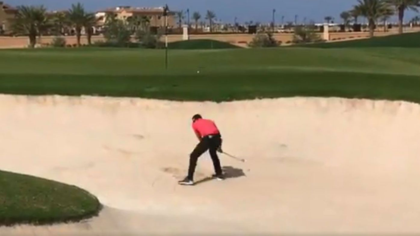 Sergio Garcia meltdown Saudi Invitational