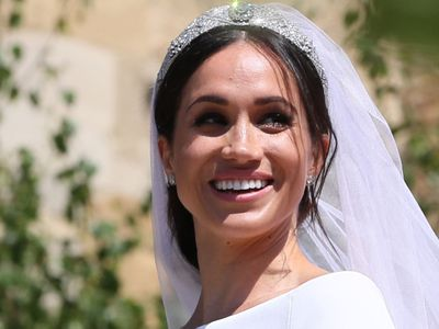 Meghan, the Duchess of Sussex: Queen Mary's Bandeau tiara