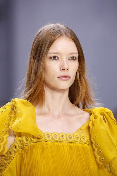"Chloe, spring/summer '17, Paris Fashion Week<br style=""box-sizing: border-box;"" />"