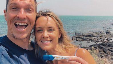 Sam Butler, Nat Medhurst, Instagram, pregnancy, announcement