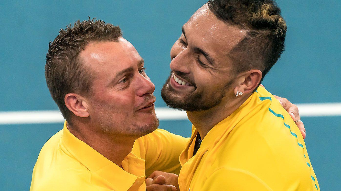 Lleyton Hewitt backing Nick Kyrgios to make deep Aus Open run despite lengthy layoff
